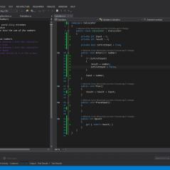 Wreszcie zielono..., czyli mam pierwszą wersję kodu produkcyjnego spełniającego test. Niby działa, ale w kolejnych krokach będziemy definiować kolejne wymagania, które z pewnością zmienią aktualną implementację.